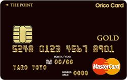 Orico Card THE POINT PLATINUM GOLD・画像